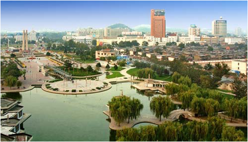Dongtan: an eco-city to be built on an island at the mouth of the Yangtze River.